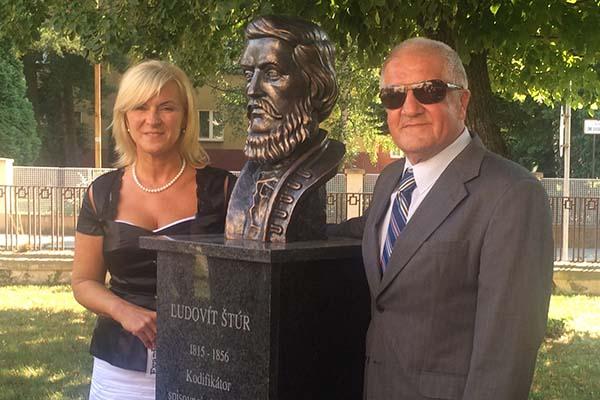 So starostkou Uhrovca Z. Máčekovou
